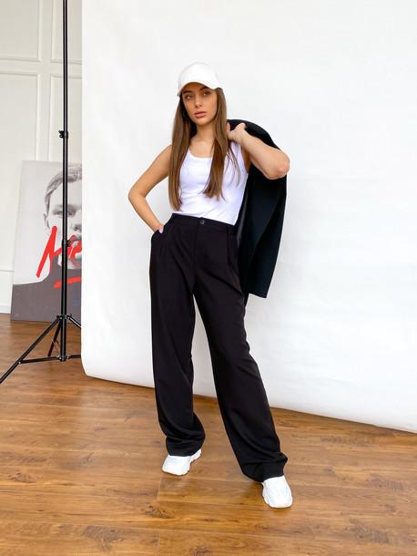Малу брюки черный