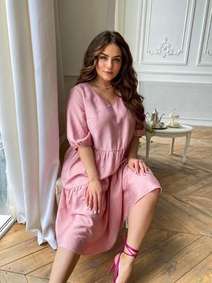 Шерити TRAND платье розовый