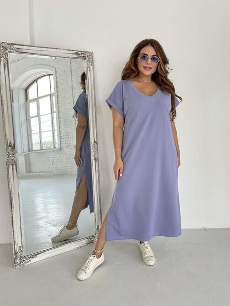Алекса TRAND платье прохладная сирень