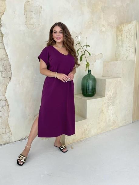 Алекса TRAND платье сливовый