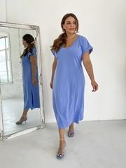 Алекса TRAND платье светлый джинс