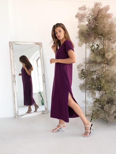 Алекса GRAND платье сливовый
