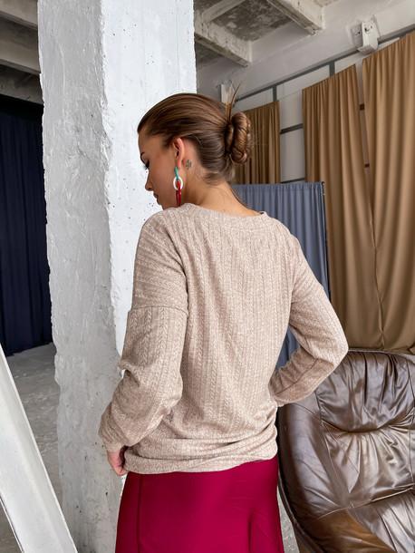 Бета свитер беж
