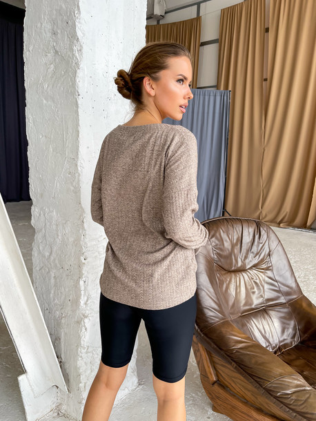 Бета свитер орех