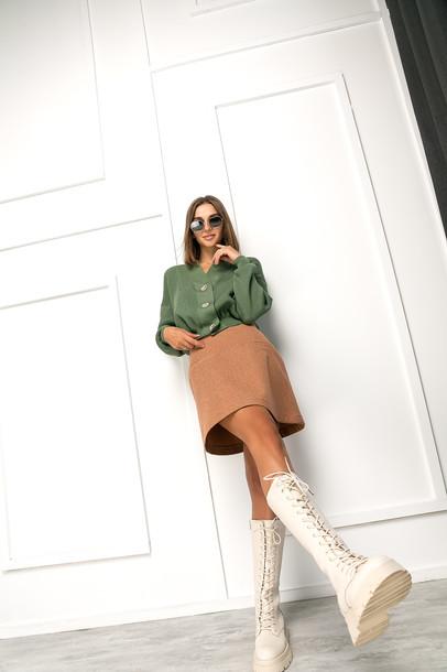 Пеппи юбка мини осень