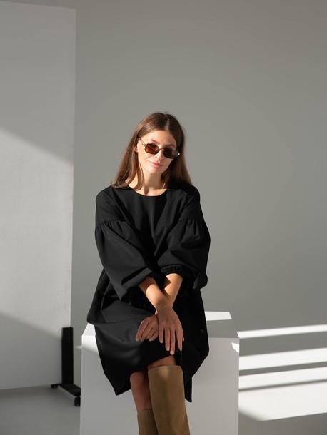 Дольче GRAND платье черный