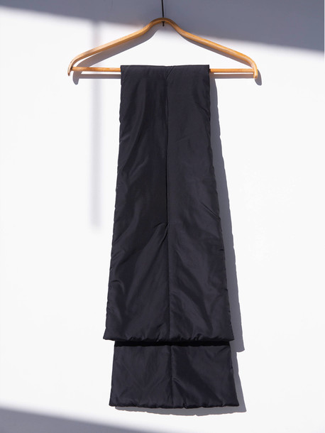 Одри шарф черный
